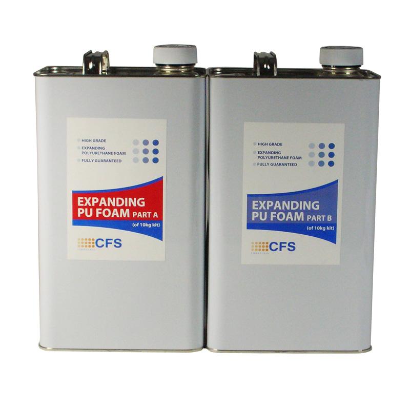 2 Part Polyurethane Foam Liquid 10kg Pack