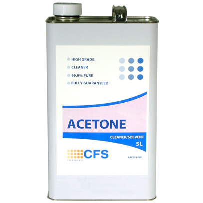 Acetone Cleaner 5 litre