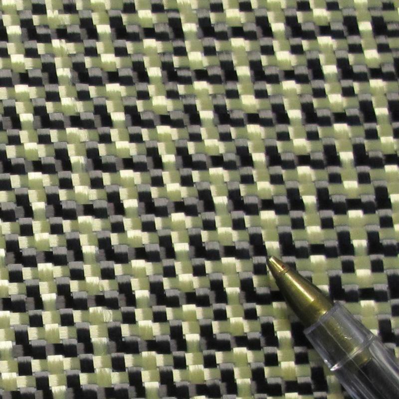 188g Carbon Kevlar Mix Fabric 100cm Wide
