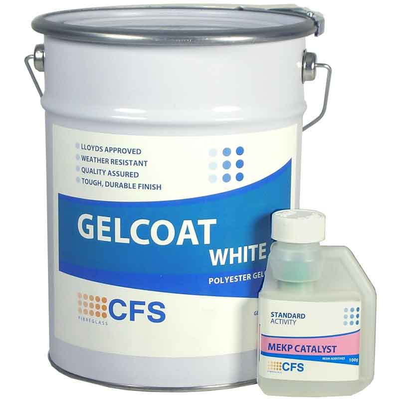 5kg Pack White Gelcoat