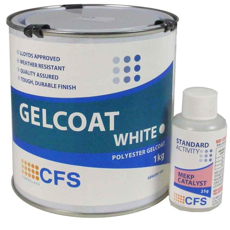 1kg Pack White Gelcoat