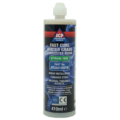 JCP Vinylester Fast Cure Winter Grade Resin 410ml