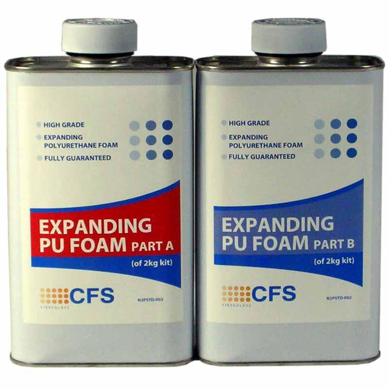 2 Part Polyurethane Foam Liquid 2kg Pack