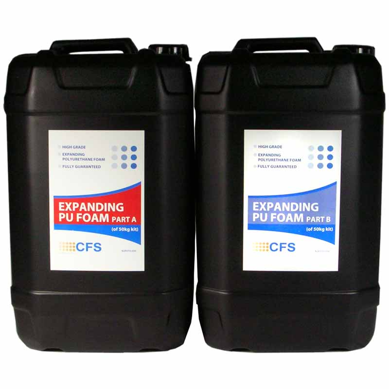 2 Part Polyurethane Foam Liquid 50kg Pack