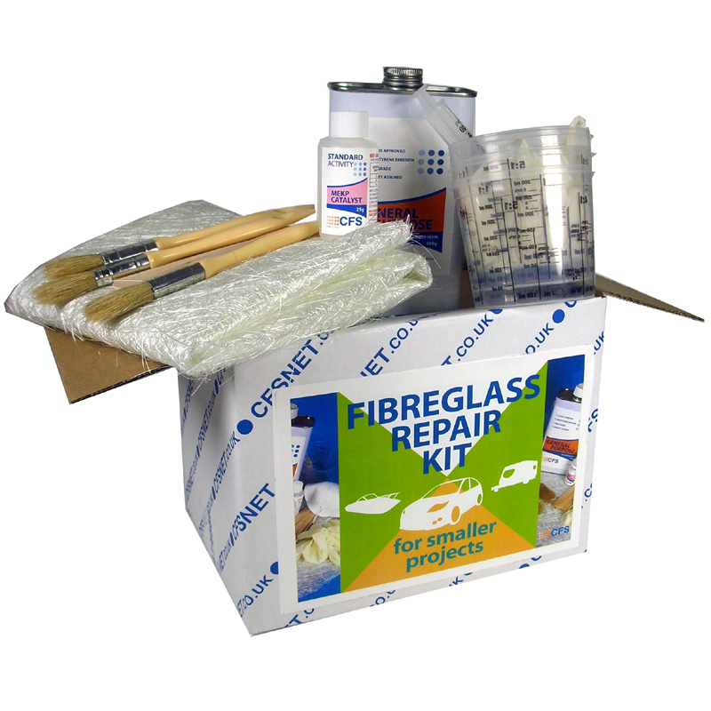 General Fibreglass Repair Kit Small