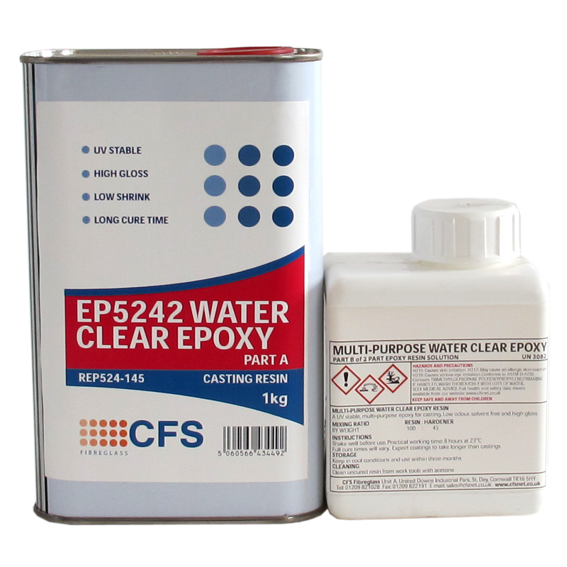 EP5242 Clear Epoxy Casting Resin Kit 1 45kg